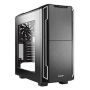 Be Quiet! Silent Base 600 Gaming Case with Window, ATX, No PSU, Tool-less, 2 x Pure Wings 2 Fans, Silver Trim