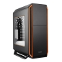 Be Quiet! Silent Base 800 Gaming Case with Window, ATX, No PSU, Tool-less, 3 x Pure Wings 2 Fans, Orange Trim