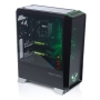 Riotoro CR1280 PRISM RGB Gaming Case with Window, E-ATX, No PSU, 2 x 12cm RGB Fans, 256-Colour RGB Controller