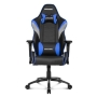 AKRacing Core Series LX Gaming Chair, Black & Blue, 5/10 Year Warranty