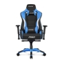 AKRacing Masters Series Pro Gaming Chair, Black & Blue, 5/10 Year Warranty