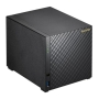 ASUSTOR AS1004T V2 4-Bay NAS Enclosure (No Drives), Dual Core 1.6GHz CPU, 512MB, USB3, GB LAN, Diamond-Plate Finish