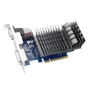 Asus GT710, 2GB DDR3, PCIe2, VGA, DVI, HDMI, GPU Tweak II, Silent, Low Profile (No Bracket)