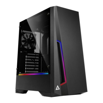 Antec DP501 Dark Phantom Gaming Case with Window, ATX, No PSU, Tempered Glass, ARGB Strips & Built-in Controller