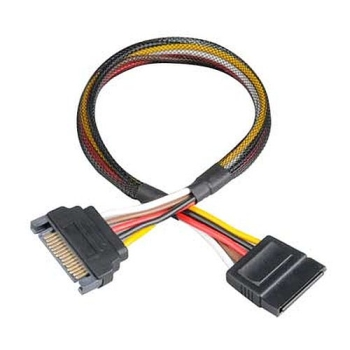 Akasa SATA Power Extension Cable Male to Female, 30cm