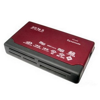 Dynamode (USB-CR-6P) External Multi Card Reader, 6 Slot, USB Powered