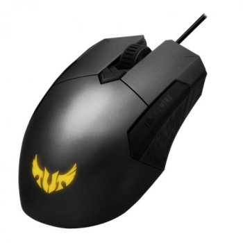 Asus TUF Gaming M5 Optical Gaming Mouse, 6200 DPI, Omron Switches, Ambidextrous, Durable Coating, RGB LED