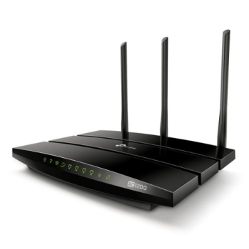 TP-LINK (ARCHER C1200) AC1200 (300+867) Wireless Dual Band GB Cable Router, USB2, 4-Port